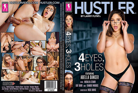 4 Eyes 3 Holes - Hustler 2017 Adult DVD (Free Shipping)
