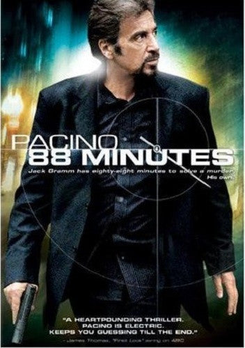88 Minutes DVD (Free Shipping)