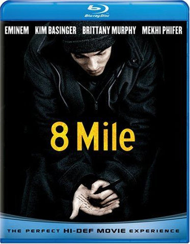 8 Mile Blu-Ray (Free Shipping)