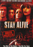 Stay Alive DVD (Director's Cut / Unrated) (Free Shipping)