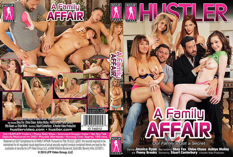 A Family Affair - Hustler Adult DVD (Free Shipping)
