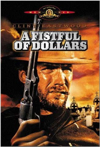 A Fistful Of Dollars DVD (Free Shipping)