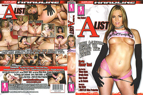 A List 1 - Hustler Adult DVD (Free Shipping)
