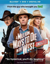 A Million Ways To Die In The West Blu-ray + DVD + Digital HD with Slip Cover (Free Shipping)