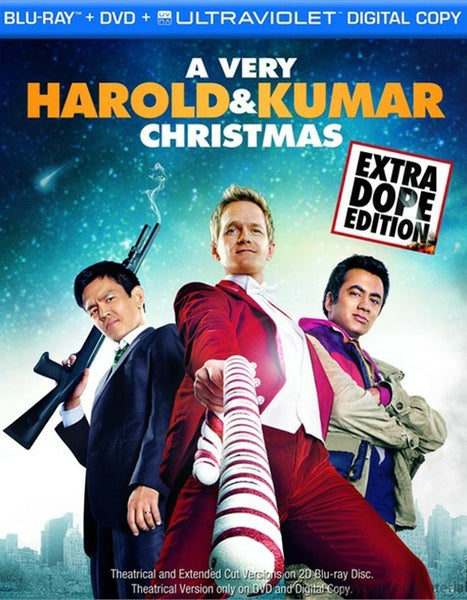 A Very Harold & Kumar Christmas: Extra Dope Edition Blu-ray + DVD + Digital Copy (2-Disc) (Free Shipping)