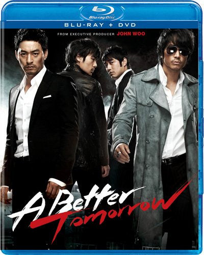 A Better Tomorrow Blu-Ray + DVD (2-Disc Set) (Free Shipping)