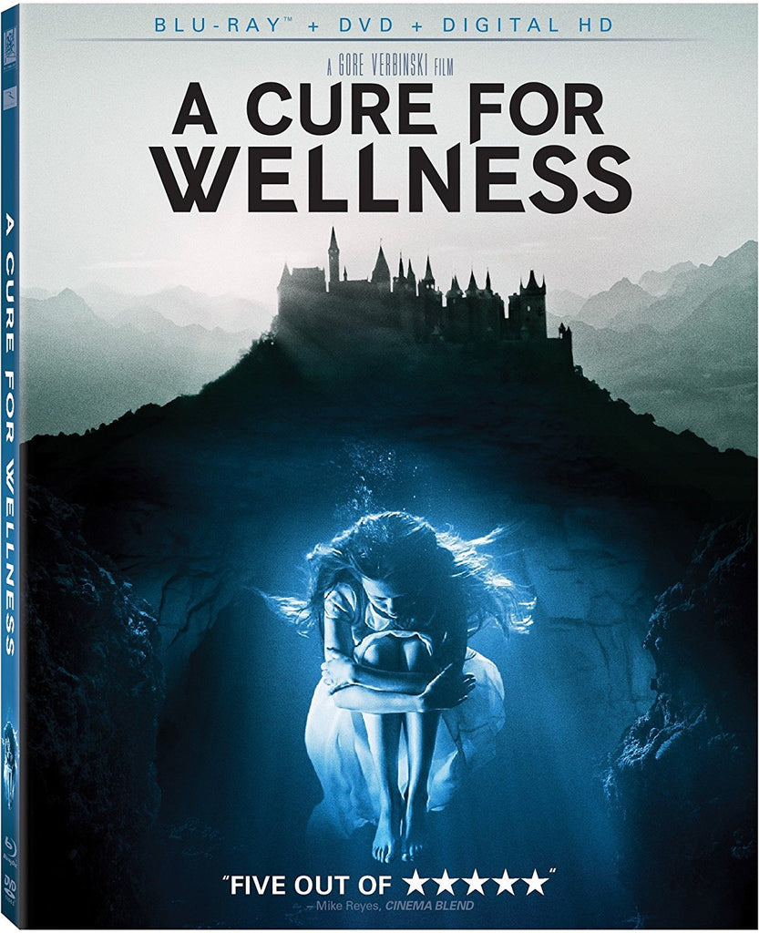 A Cure For Wellness Blu-Ray + DVD + Digital HD (2-Disc Set) (Free Shipping)