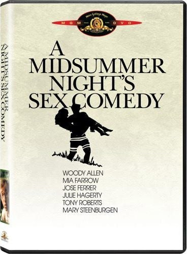 A Midsummer Night's Sex Comedy DVD (Free Shipping)