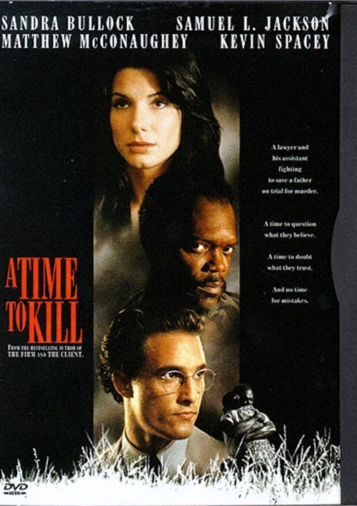 A Time To Kill DVD (Free Shipping)