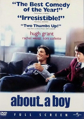 About A Boy DVD (Free Shipping)