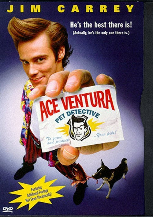 Ace Ventura - Pet Detective DVD (Free Shipping)