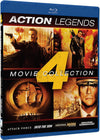 Action Legends - 4 Movie Collection: Attack Force / Into the Sun / Universal Soldier: The Return / Second in Command Blu-Ray (Free Shipping)