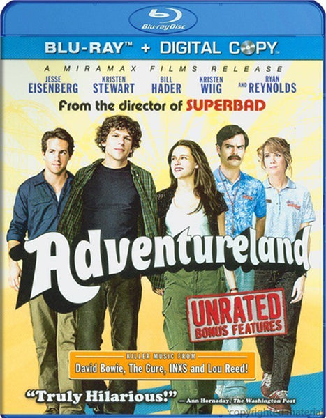 Adventureland Blu-ray + Digital Copy (2-Disc) (Free Shipping)