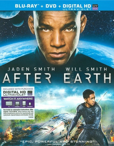 After Earth Blu-Ray + DVD (2-Disc Set) (Free Shipping)