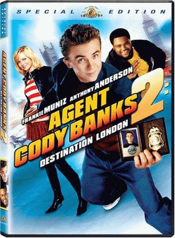 Agent Cody Banks 2 - Destination London DVD (Free Shipping)