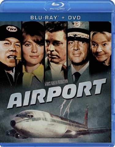 Airport Blu-Ray + DVD (2-Disc Set) (Free Shipping)