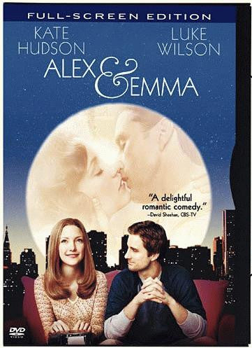 Alex & Emma DVD (Fullscreen) (Free Shipping)