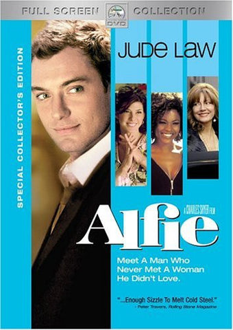 Alfie DVD (2004 / Special Edition / Fullscreen) (Free Shipping)