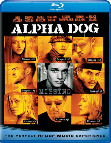Alpha Dog Blu-Ray (Free Shipping)