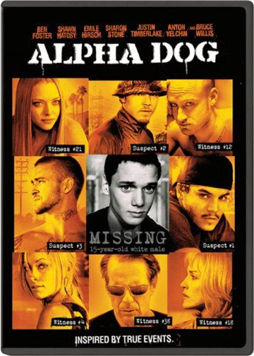 Alpha Dog DVD (Widescreen) (Free Shipping)
