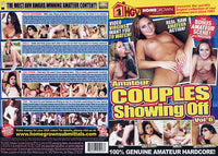 Amateur Couples Showing Off 6 - Adult DVD (Free Shipping)