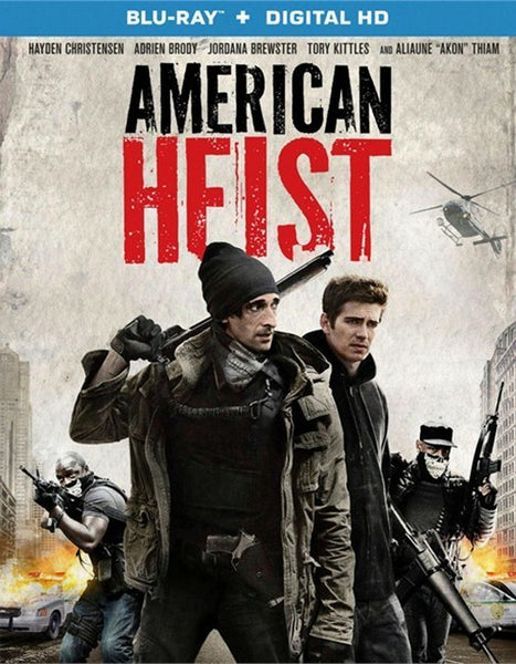 American Heist Blu-Ray + Digital HD (Free Shipping)