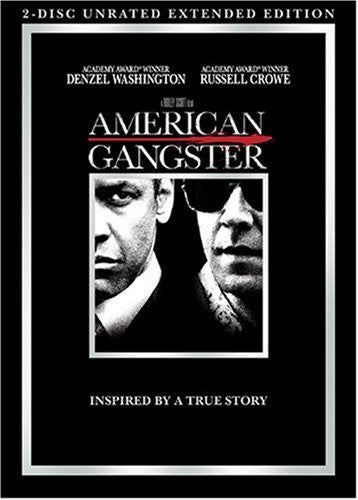 American Gangster DVD (2-Disc Unrated Extended Edition) (Free Shipping)