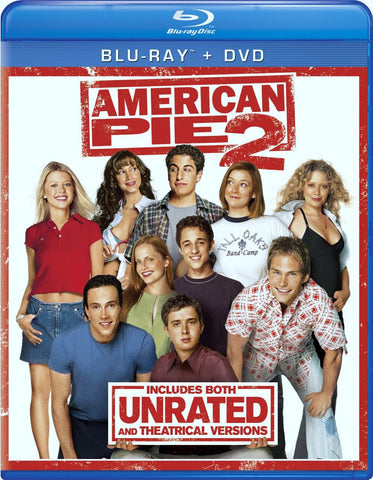 American Pie 2 Blu-ray + DVD (Free Shipping)