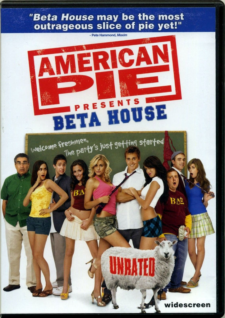 American Pie Presents - Beta House DVD (Unrated Widescreen) (Free Shipping)