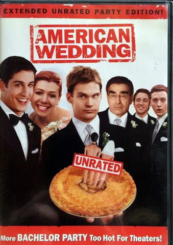 American Wedding DVD (Fullscreen Extended Unrated Party Edition) (Free Shipping)