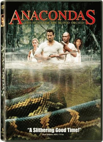 Anacondas - The Hunt for the Blood Orchid DVD (Free Shipping)