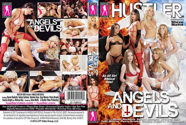 Angels And Devils - Hustler Adult DVD (Free Shipping)