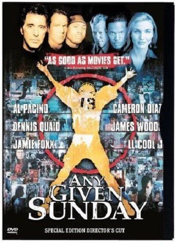 Any Given Sunday DVD (Special Edition Director's Cut) (Free Shipping)