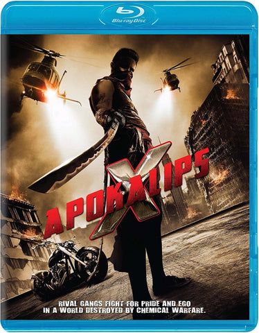 Apokalips X Blu-Ray (Free Shipping)
