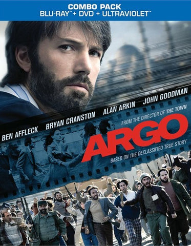 Argo Blu-ray + DVD + UltraViolet with Slip Cover (Free Shipping)