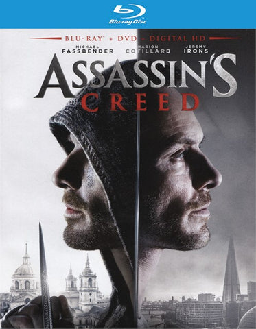 Assassin's Creed Blu-ray + DVD + UltraViolet (2-Disc Set) (Free Shipping)