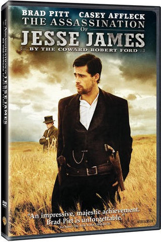 The Assassination Of Jesse James By The Coward Robert DVD (Free Shipping)