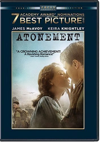 Atonement DVD (Free Shipping)