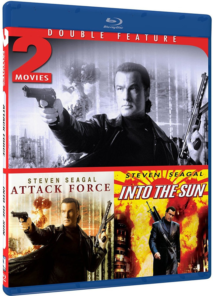 Attack Force & Into the Sun Double Feature Blu-Ray (Free Shipping)
