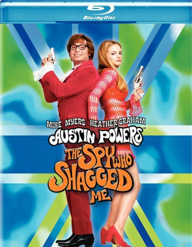 Austin Powers: The Spy Who Shagged Me Blu-Ray (Free Shipping)