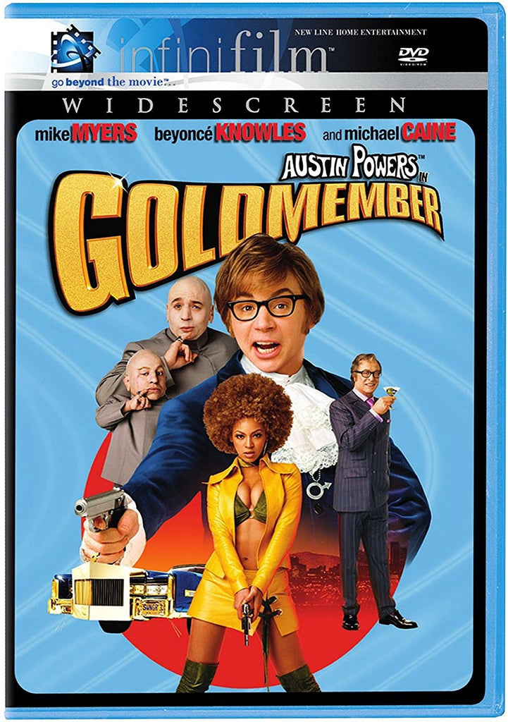 Austin Powers In Goldmember DVD (Widescreen) (Free Shipping)