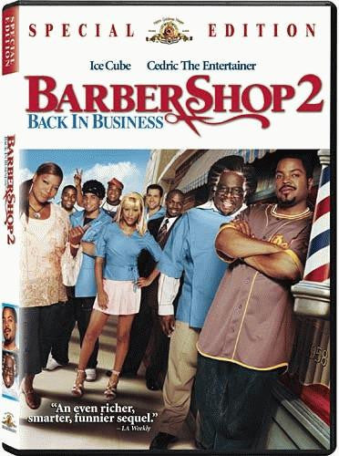 Barbershop 2 - Back in Business DVD (Free Shipping)