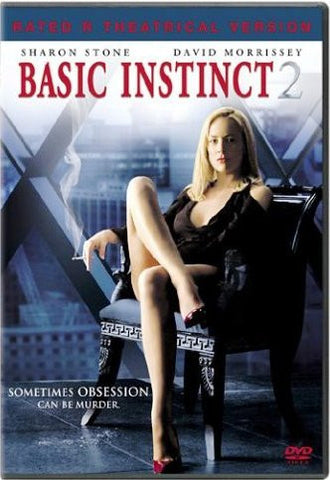 Basic Instinct 2: Risk Addiction DVD (Rated-R) (Free Shipping)