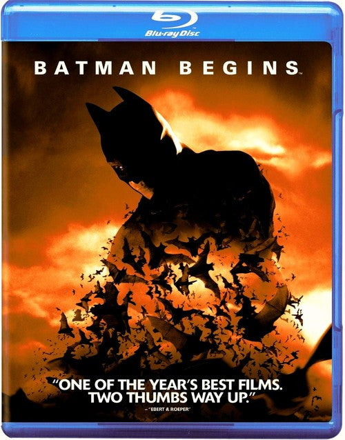 Batman Begins - Blu-Ray - DVD (Free Shipping)