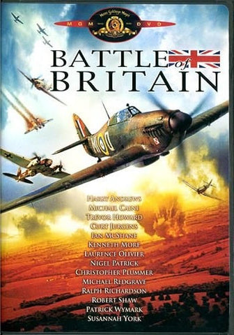 Battle Of Britain DVD (Free Shipping)