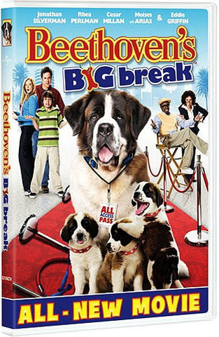 Beethoven's Big Break DVD (Free Shipping)