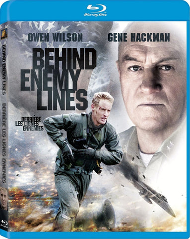 Behind Enemy Lines Blu-Ray (Free Shipping)