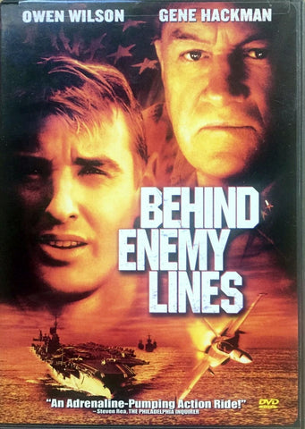 Behind Enemy Lines DVD (Free Shipping)