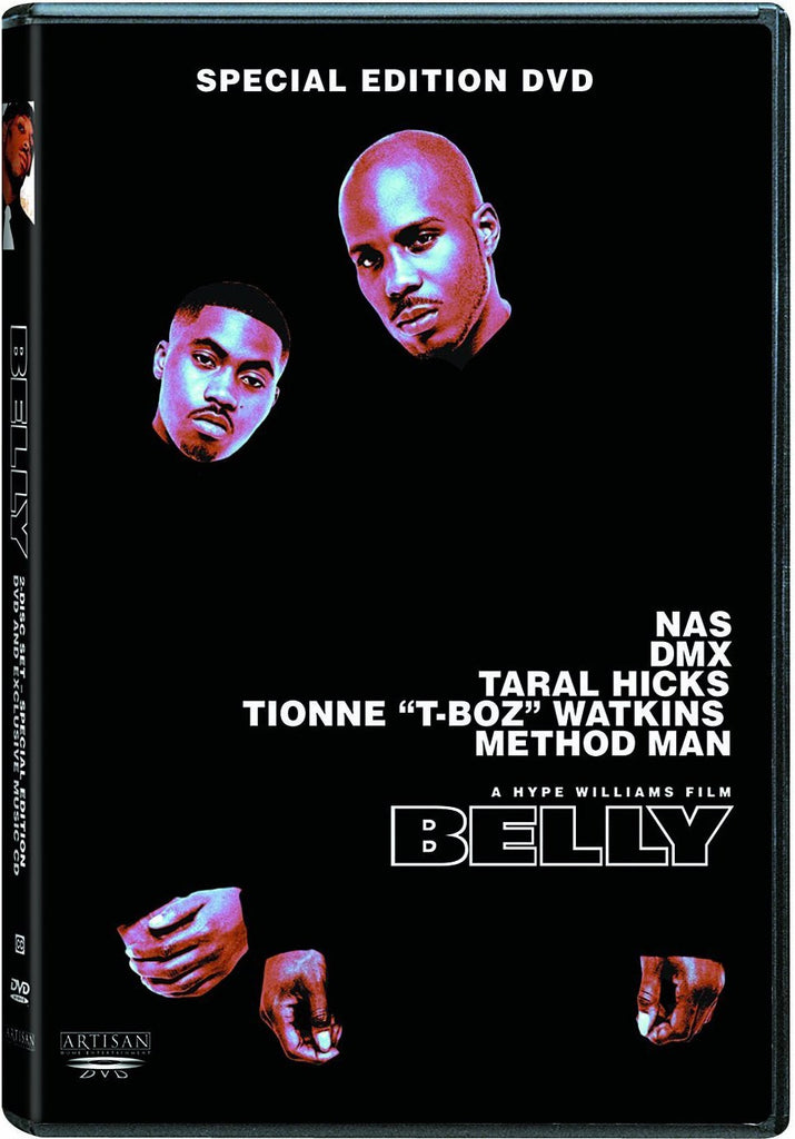 Belly DVD (Special Edition) (Free Shipping)