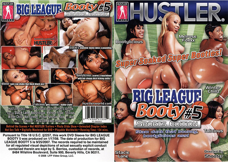 Big League Booty 5 - Hustler Adult DVD (Free Shipping)